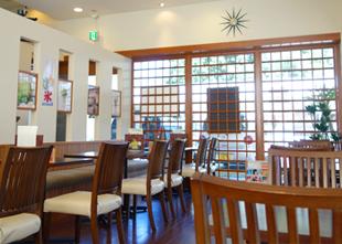 Japanese styleカフェ『香寫(casha)』店内