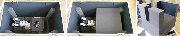 顕微鏡収納・運搬アルミケース