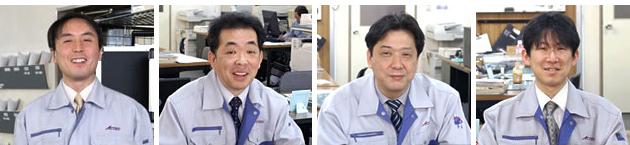 アクテック株式会社の営業四天王