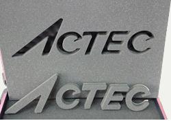 アクテックロゴ プロッター加工
