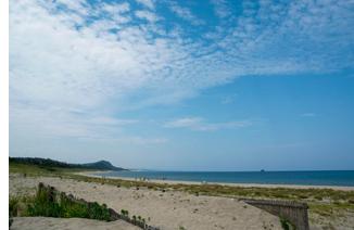 岩戸海岸(砂丘近くの海岸)