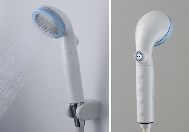 マイクロナノバブルの力でスッキリ! 浄水機能付のシャワーヘッドボリーナ登場