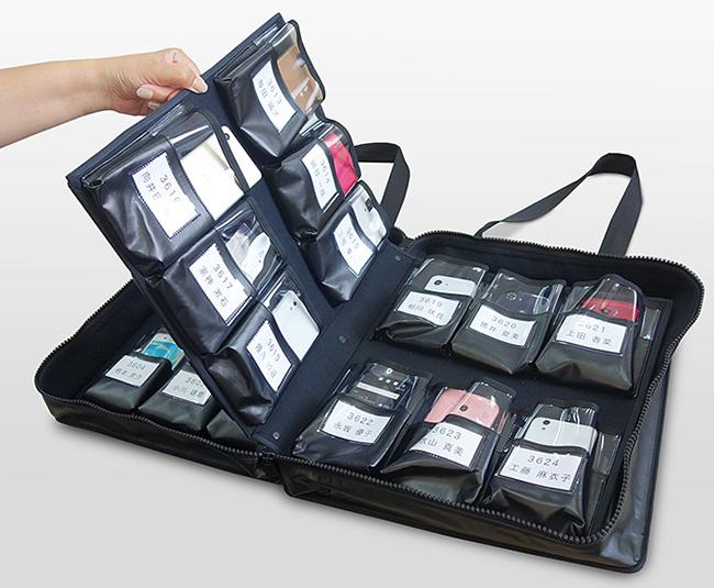 スマートフォン36台収納ソフトケース02
