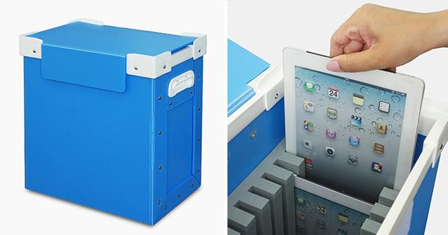 iPad10台収納プラダンケース01