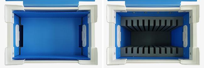 iPad10台収納プラダンケース02