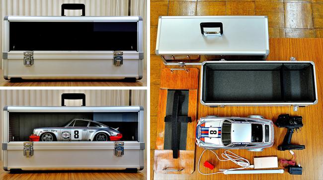 電動RCカー ディスプレイ ケース1