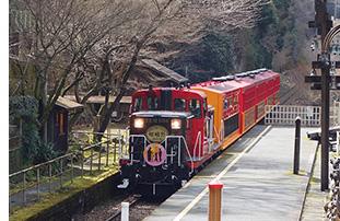 嵯峨野トロッコ列車02