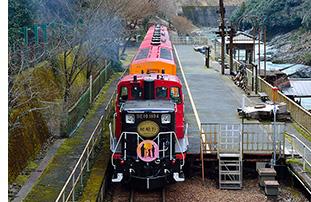嵯峨野トロッコ列車03