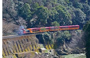 嵯峨野トロッコ列車06