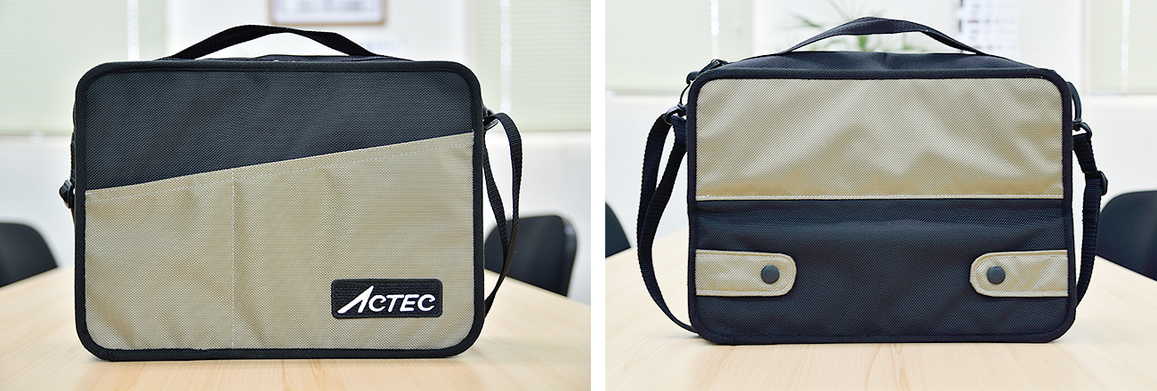 タブレットスタンド付きオフィスバッグ02