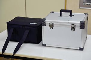 タブレット10台運搬用ソフトケース用アルミケース02