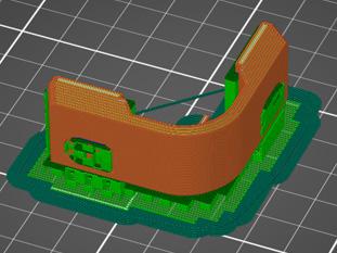 GRタイプコーナー樹脂3D