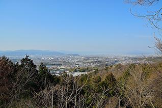 国見山の展望(枚方八景)2
