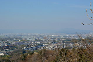 国見山の展望(枚方八景)4