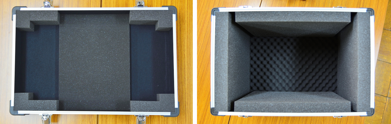 水中ドローン展示用ジオラマ収納ケース2